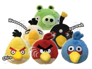 Angry Birds Plush - YouTube DIY videos
