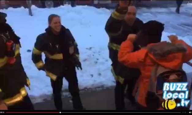 Firefighters Fighting For Literacy Will Make You Happy