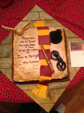 beccatoldmeto - harry potter cake