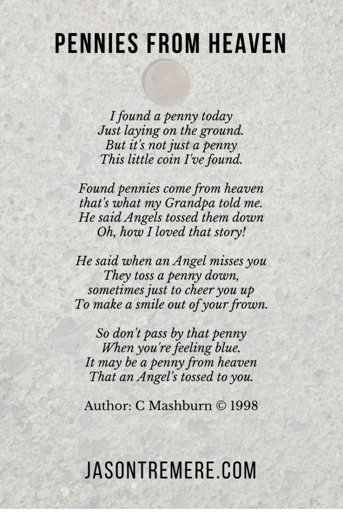 Pennies From Heaven poem